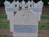 II wojna światowa. Kwatery wojenne z 1944 r. w Lommel w Belgii. Żydzi walczyli w Pierwszej Polskiej Dywizji Pancernej gen. Stanisława Maczka