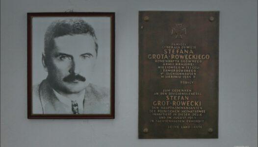 Sachsenhausen, cela poświęcona pamięci generała Stefana Grota-Roweckiego