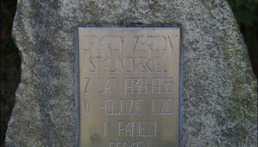 Białoruś, Sopoćkinie, Ofiarom zbrodni stalinowskiej z lat 1939-1955
