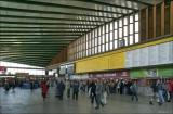 ul. Kijowska, dworzec Warszawa Wschodnia hala główna w 2007 i 2019 roku
