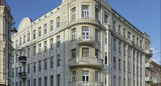 Łódź, remont kamienicy przy ul. Narutowicza 16