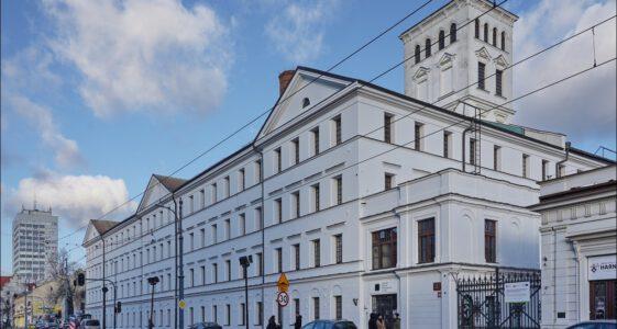 Łódź ul. Piotrkowska 293/305, rewitalizacja fabryki Ludwika Geyera, Ogrody Geyera, 2020.01.05, Cz. 1