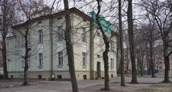 Łódź ul. Senatorska 11, dawna willa Edwarda Ramischa