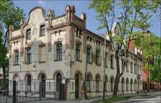 Łódź ul Andrzeja Struga 61/63, dawna fabryka Franciszka Kindermanna