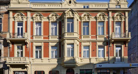 Łódź kamienica ul. Piotrkowska 70