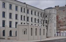 Łódź ul. Dowborczyków 18, Pałacyk Teodora Meyerhoffa , dawna fabryka Teodora Meyerhoffa