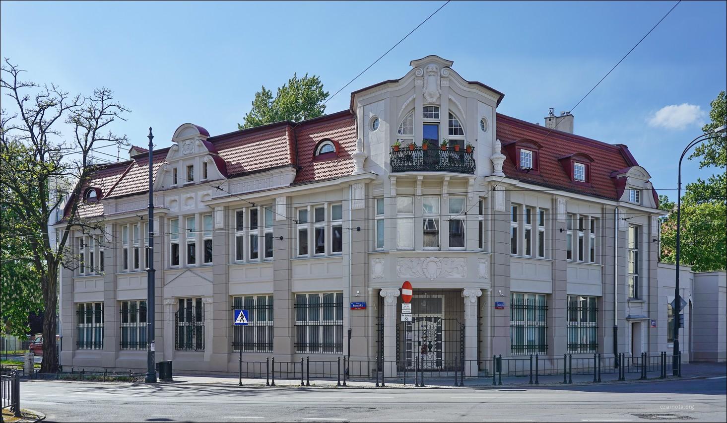 Łódź, ul. Kopernika / Gdańska 109/111, Kamienica Reinholda Wyssa