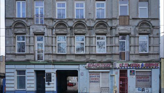 Łódź, ul. Stanisława Przybyszewskiego 9, kamienica gdzie ukrywano angielskich lotników