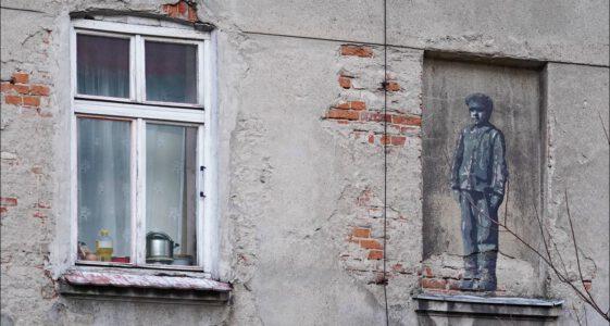 """Łódź, """"Dzieci Bałut – murale pamięci"""""""