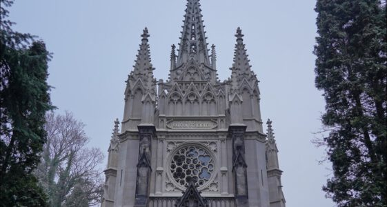 Łódź ul. Ogrodowa, Kaplica Scheiblera na Starym Cmentarzu