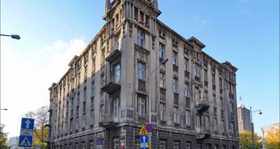 Łódź, skrzyżowanie Moniuszki i Sienkiewicza