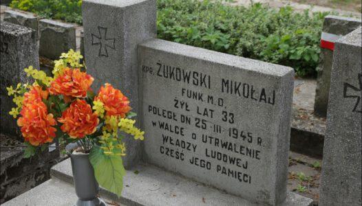 Biała Podlaska, Cmentarz Katolicki, kwatery pachołków sowieckiego okupanta Polski