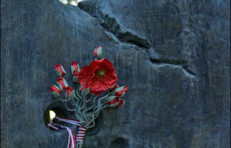 Białoruś, Lenino, pomnik poświęcony żołnierzom Pierwszej Dywizji im. Tadeusza Kościuszki i Polski Cmentarz Wjenny