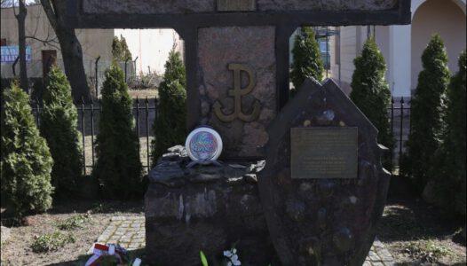 Krzyż Żołnierzy Wyklętych w Kałuszynie