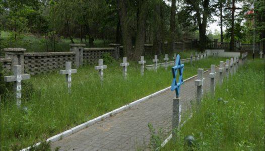 Wola Wodyńska, cmentarz wojenny żołnierzy Wojska Polskiego 1 Dywizji Piechoty Legionów Józefa Piłsudskiego
