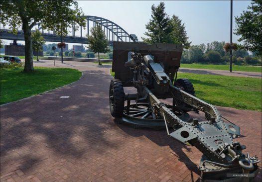 Fickes Armstrong artillery gun in Market-Garden