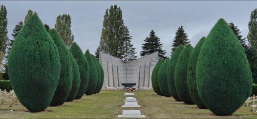 Polski Cmentarz Wojenny w Grainville-Langannerie. Żydzi walczyli w Polskich Siłach Zbrojnych na Zachodzie