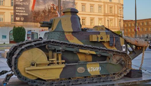 Renault FT-17 czołg armii II Rzeczpospolitej