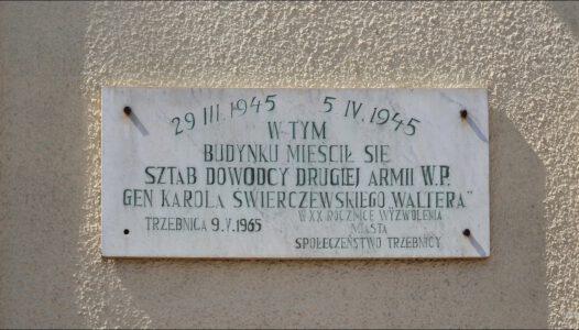 Trzebnica, ul. Wincentego Witosa 14, sztab dowódcy Drugiej Armii W.P
