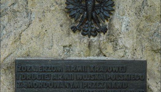 Kąkolewnica, uroczysko Baran, Podlaski Katyń, miejsce masowych mordów NKWD na polskich żołnierzach