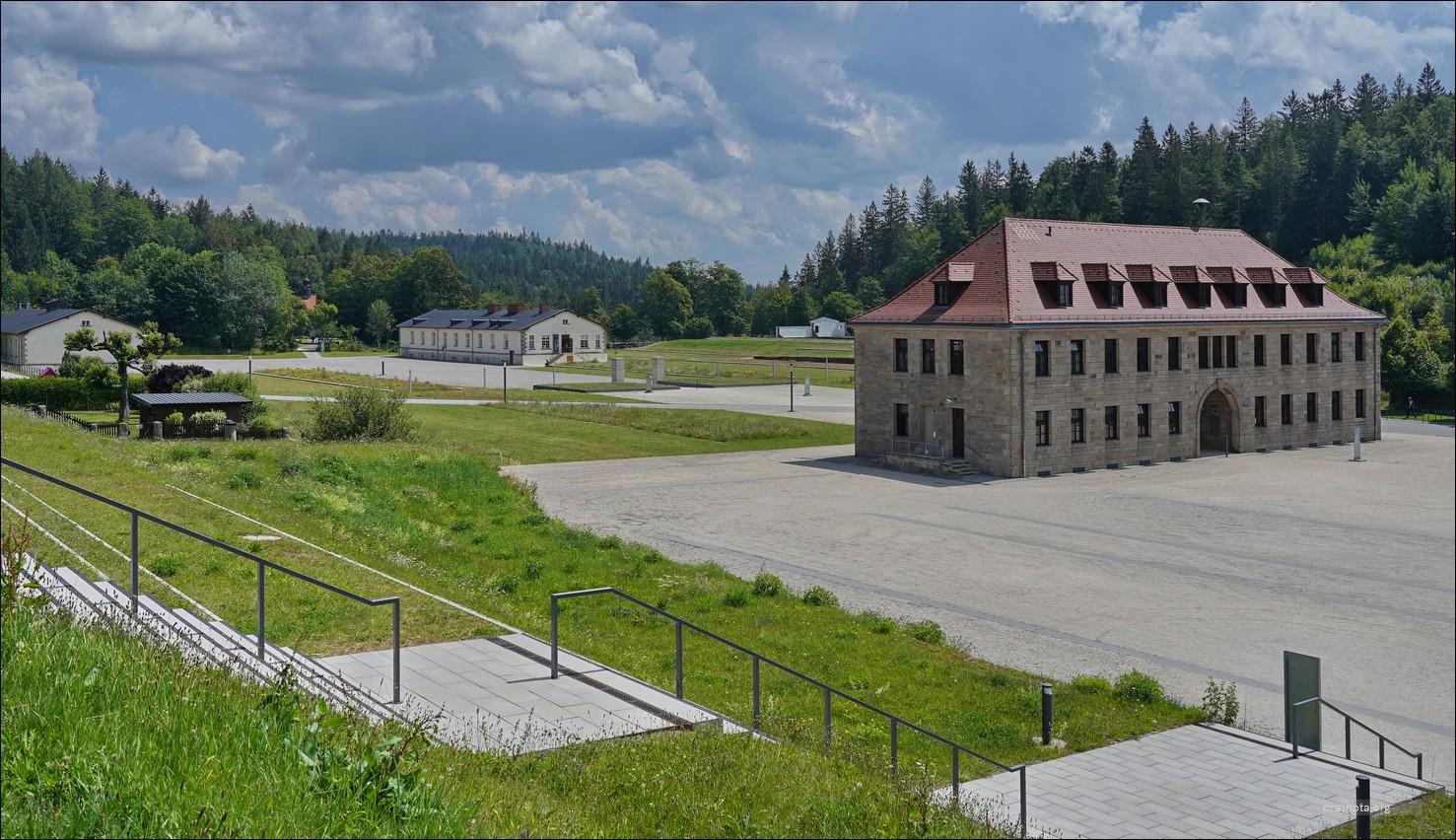 Niemcy, Germany, Obóz Koncentracyjny Flossenbürg, KL Flossenborg – kasyno SS, komendantura, kuchnia