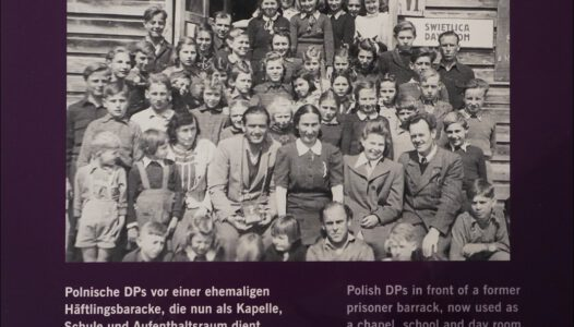 Niemcy, Germany, Flossenbürg, Polish DP camp, Polski obóz przesiedleńczy na terenie dawnego KL Flossenbürg 1946-1947