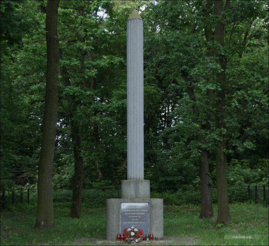 Twierdza Dęblin, stalag 307, Шталаг 307, zbiorowa mogiła ofiar obozu jeńców wojennych