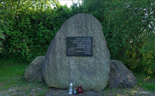 Kolkowo, miejsce pamięci ofiar marszu śmierci KL Stutthof