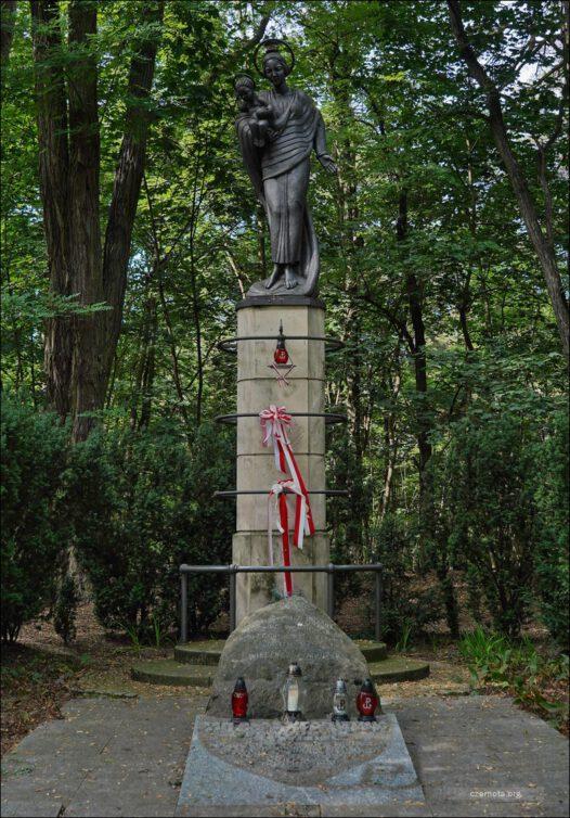 Upamiętnienie powstanców AK Żywiciel poległych w starciu z Niemcami pod Boernerowem