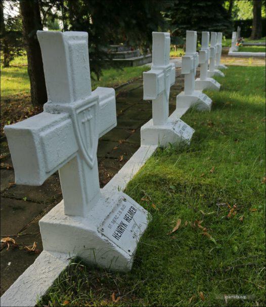 Kwatera Wojenna na Cmentarzu Komunalnym w Trzcińsku – Zdroju