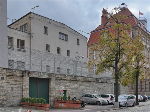 Poznań, ul. Młyńska 1, Areszt Śledczy, dawne Centralne Więzienie Karno-Śledcze Ministerstwa Bezpieczeństwa Publicznego