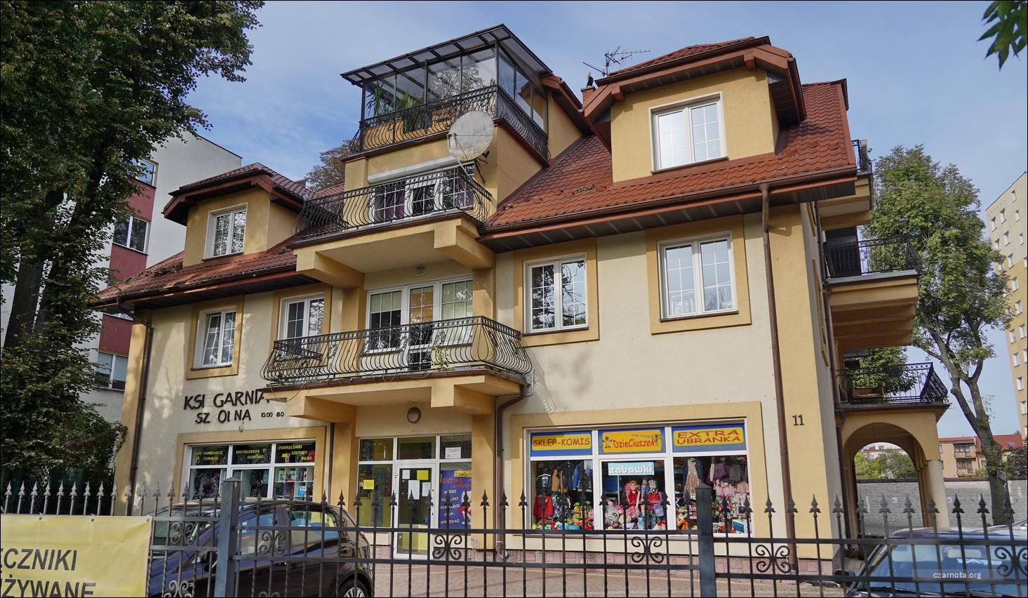 Lublin, ul. Obywatelska 11, dawny Punkt kontaktowy NSZ