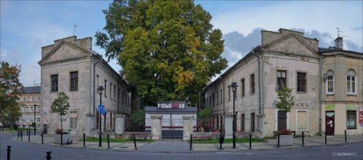 Lublin, Pałac Potockich, dawna Komenda Powiatowa MO