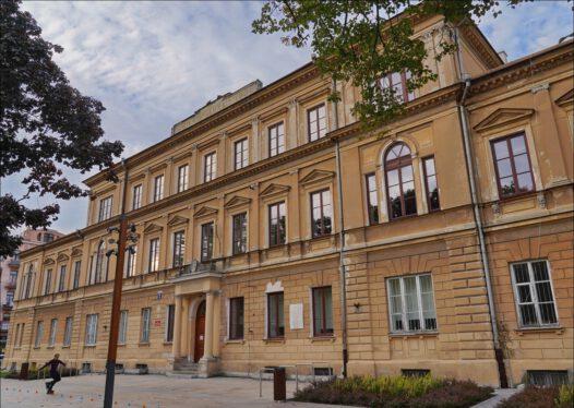 Lublin, plac Litewski 5, Uniwersytet Marii Curie-Skłodowskiej, była Komenda Główna Milicji Obywatelskiej.