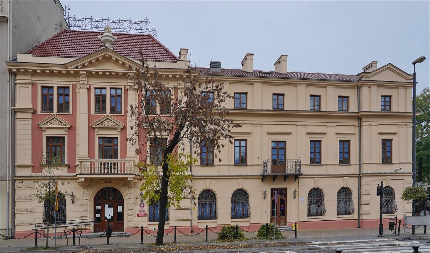 Lublin, ul. Krakowskie Przedmieście 47, dawna siedziba PUBP i komisariat MO