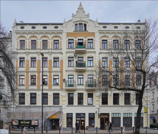 Lublin, ul. Krakowskie Przedmieście 53 / Krótka, pierwsza siedziba WUBP w Lublinie