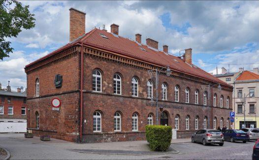 Tczew, ul. Jarosława Dąbrowskiego 6, dawna siedziba Powiatowego Urzędu Bezpieczeństwa Publicznego