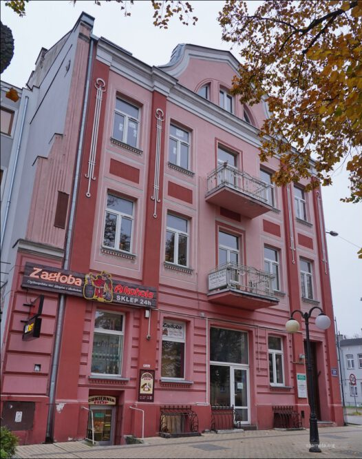 Tomaszów Mazowiecki, ul. Świętego Antoniego 21, dawna siedziba Powiatowego Urzędu Bezpieczeństwa Publicznego