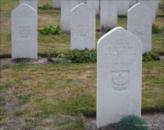 Niemcy, Germany, Soltau, Becklingen War Cemetery, CWGC, Brytyjski Cmentarz Wojenny
