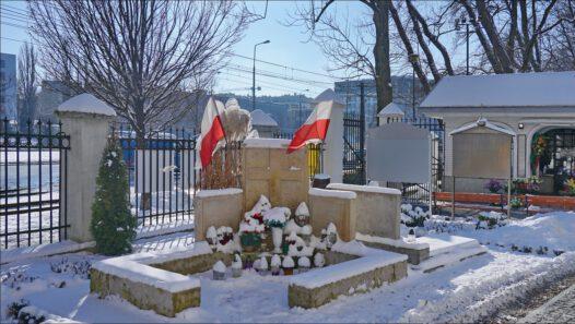 Warszawa, przy Cerkwi św. Jana Klimaka, miejsce zbrodni na dzieciach z Sierocińca Prawosławnego i osobach chroniących się w cerkwi