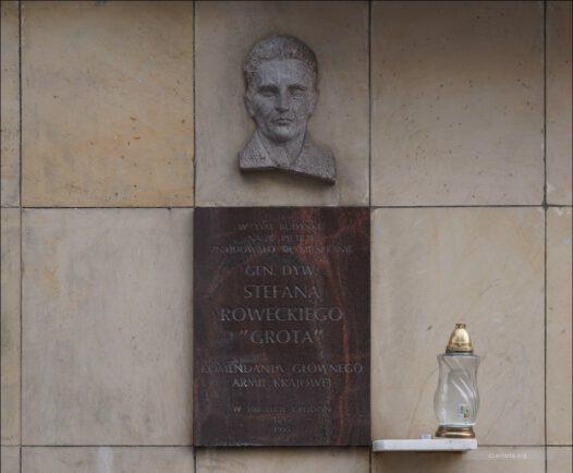 Warszawa, ul. Chocimska 22,  jedno z konspiracyjnych mieszkań gen. Stefana Roweckiego.