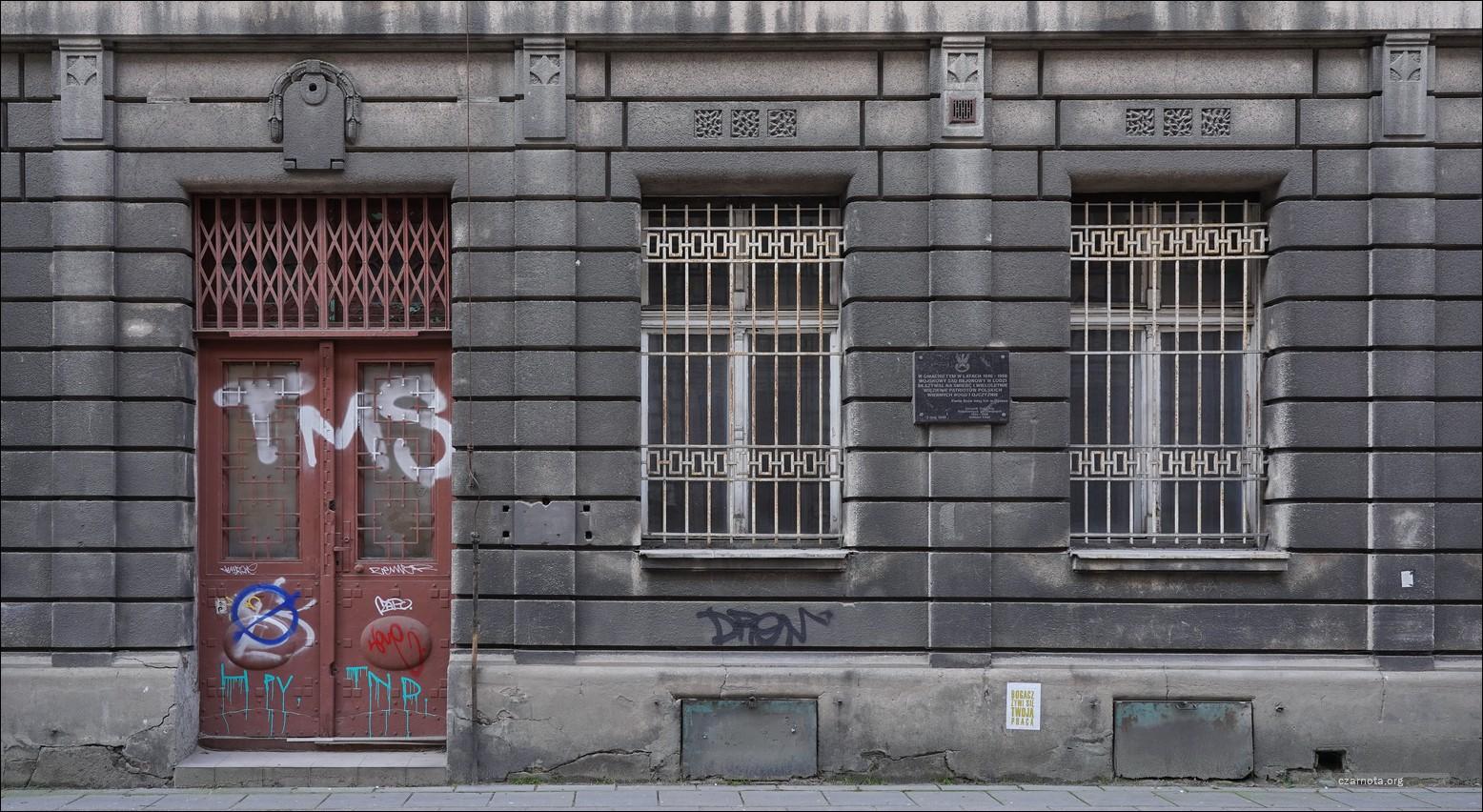 Łódź, ul. Moniuszki 10, Wojskowy Sąd Rejonowy w Łodzi