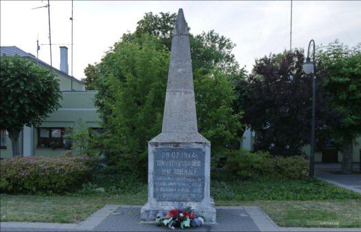 Terespol, ul. Wojska Polskiego, pomnik pamięci żołnierzy Armii Czerwonej