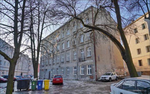 Polska, Łódź, ul. Jakuba 10, dawny punkt zborny ludzi wysiedlanych do Litzmannstadt Getto