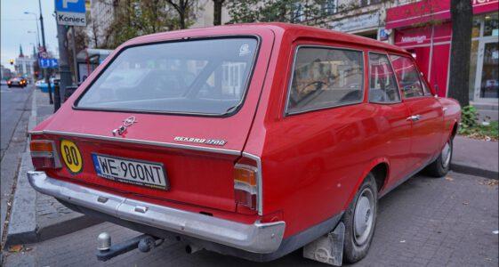 Opel Rekord Van combi 1700