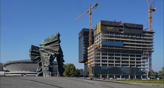 Katowice, remonty i budowy lipiec 2020 cz.1