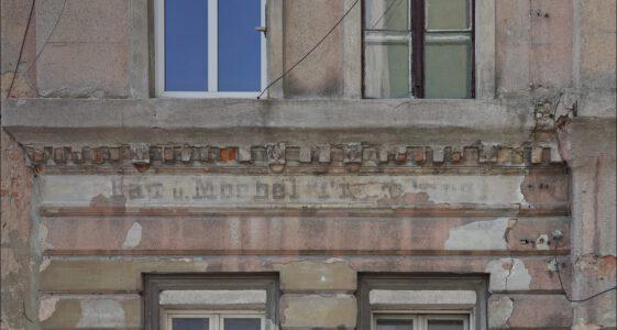 Stare napisy odkryte na murach cz.1
