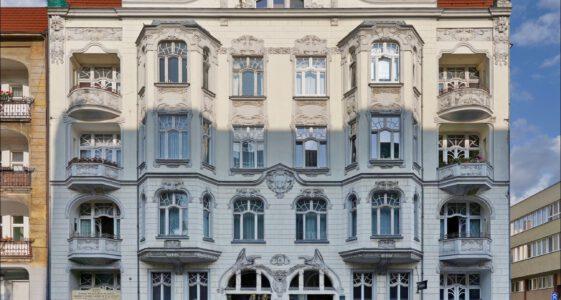 Szczecin, ul. Świętego Wojciecha 1, kamienica secesyjna