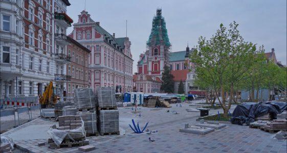 Poznań, przebudowa placu Kolegiackiego