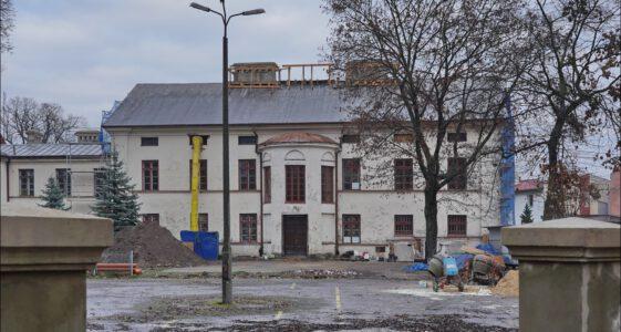 Ozorków, ul. Listopadowa 6B, Młodzieżowy Dom Kultury, Pałac Schlosserów